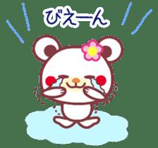 LOVE LOVE! I like you -Chocolate bear- sticker #4970242