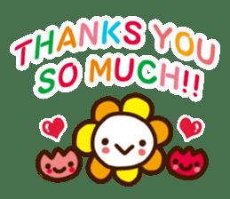 Cheerful words Sticker sticker #4975400
