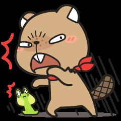 Grumpy Mr Beaver