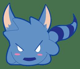 Jubi the Blue Mammal sticker #4998286