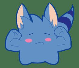 Jubi the Blue Mammal sticker #4998296