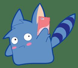 Jubi the Blue Mammal sticker #4998316
