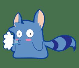 Jubi the Blue Mammal sticker #4998319