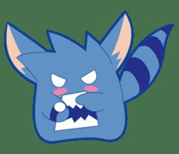 Jubi the Blue Mammal sticker #4998324