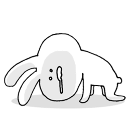 Feeling of the white rabbit sticker #5003226