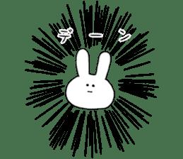 Feeling of the white rabbit sticker #5003229