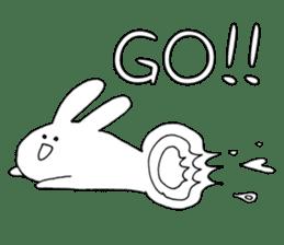 Feeling of the white rabbit sticker #5003230