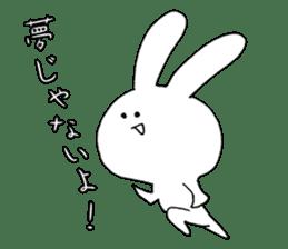 Feeling of the white rabbit sticker #5003234