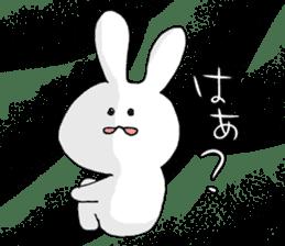 Feeling of the white rabbit sticker #5003246