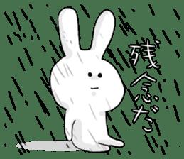 Feeling of the white rabbit sticker #5003255