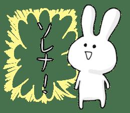Feeling of the white rabbit sticker #5003257