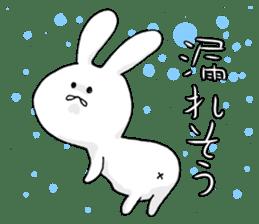 Feeling of the white rabbit sticker #5003261