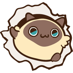 Siamese Cat Bon