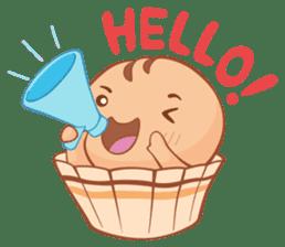 Muffin Cheeze!! 2 sticker #5007622