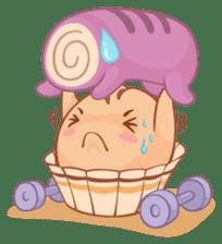 Muffin Cheeze!! 2 sticker #5007630