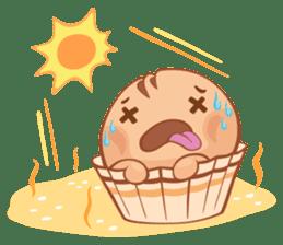 Muffin Cheeze!! 2 sticker #5007631