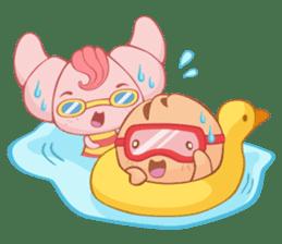 Muffin Cheeze!! 2 sticker #5007632