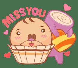 Muffin Cheeze!! 2 sticker #5007641