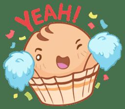 Muffin Cheeze!! 2 sticker #5007656
