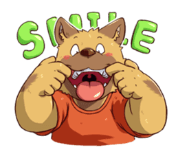 Sitabe Dog sticker #5008653