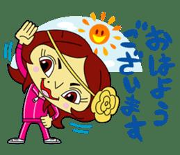Angela Sato sticker #5009062