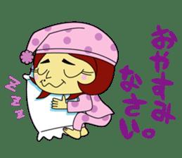 Angela Sato sticker #5009063