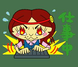 Angela Sato sticker #5009077