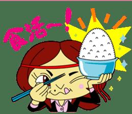 Angela Sato sticker #5009084