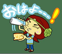 Angela Sato sticker #5009100