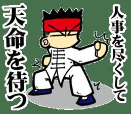 luohan quan shaolin kung fu sticker #5010542