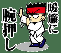 luohan quan shaolin kung fu sticker #5010559