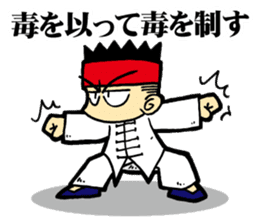 luohan quan shaolin kung fu sticker #5010565