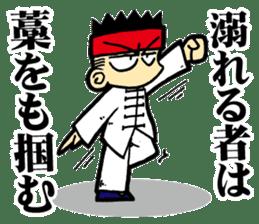 luohan quan shaolin kung fu sticker #5010566