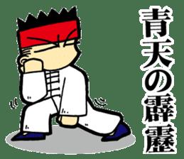 luohan quan shaolin kung fu sticker #5010575