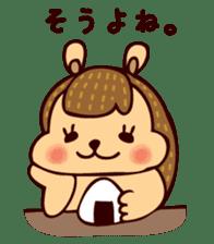 Squishy Squirrel sticker #5026230