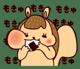 Squishy Squirrel sticker #5026237