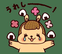 Squishy Squirrel sticker #5026238