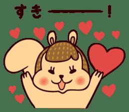 Squishy Squirrel sticker #5026239