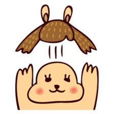 Squishy Squirrel sticker #5026243