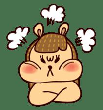 Squishy Squirrel sticker #5026244