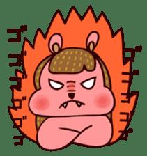Squishy Squirrel sticker #5026245
