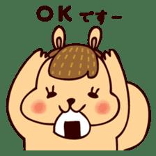 Squishy Squirrel sticker #5026246