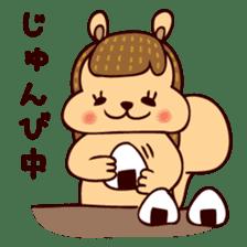 Squishy Squirrel sticker #5026248