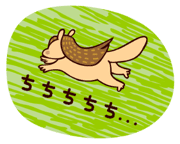 Squishy Squirrel sticker #5026249