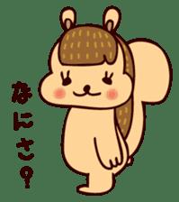 Squishy Squirrel sticker #5026250