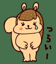 Squishy Squirrel sticker #5026251