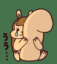 Squishy Squirrel sticker #5026255