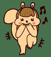 Squishy Squirrel sticker #5026256