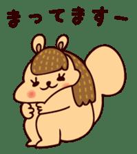 Squishy Squirrel sticker #5026260