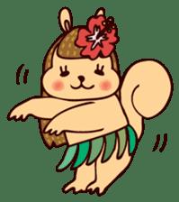 Squishy Squirrel sticker #5026261